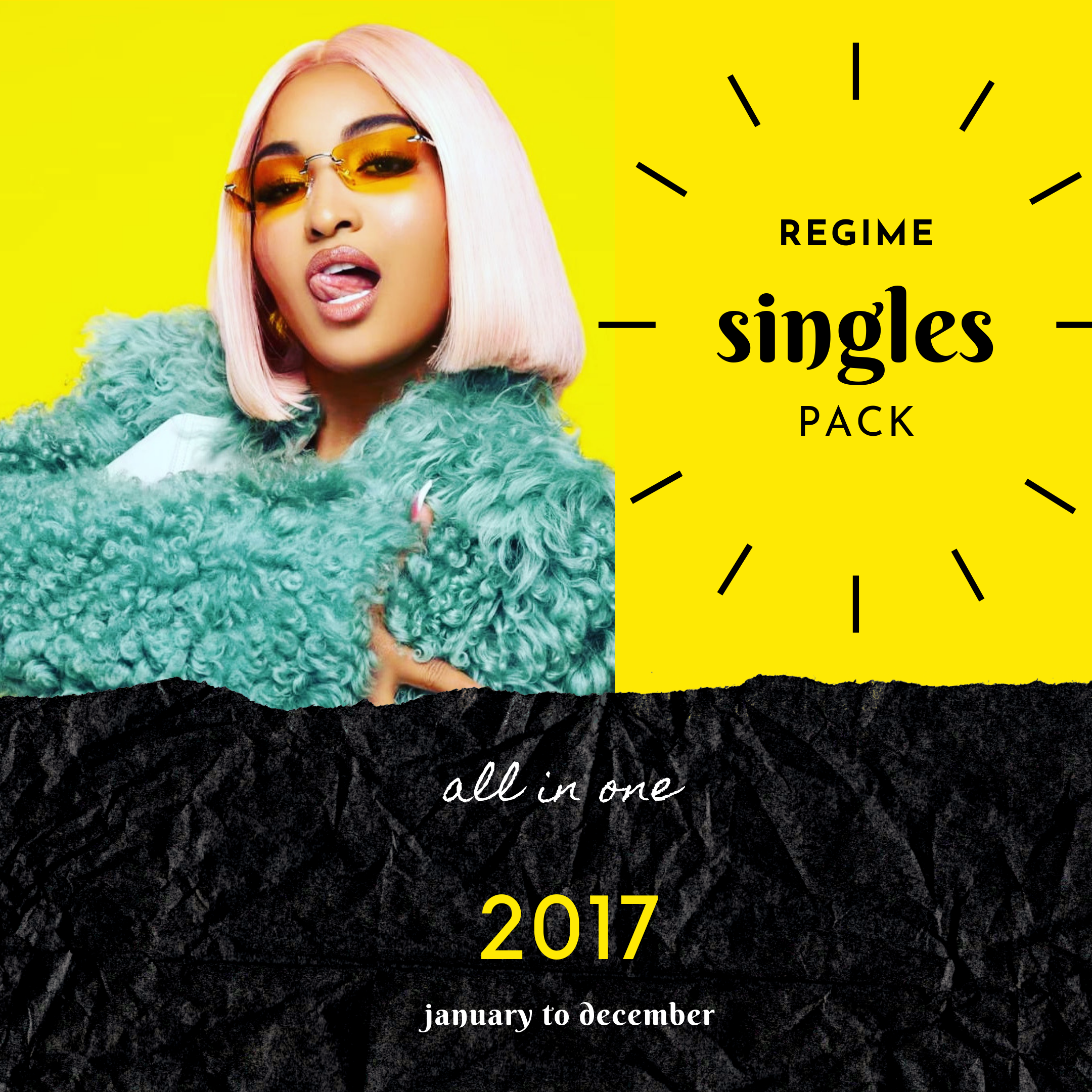 REGIME SINGLES PACK 2017 - JANUARY TO DECEMBER ALL IN ONE